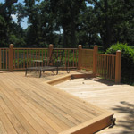 Cypress wood lumber specialty lumber services decking for Timber decking seconds