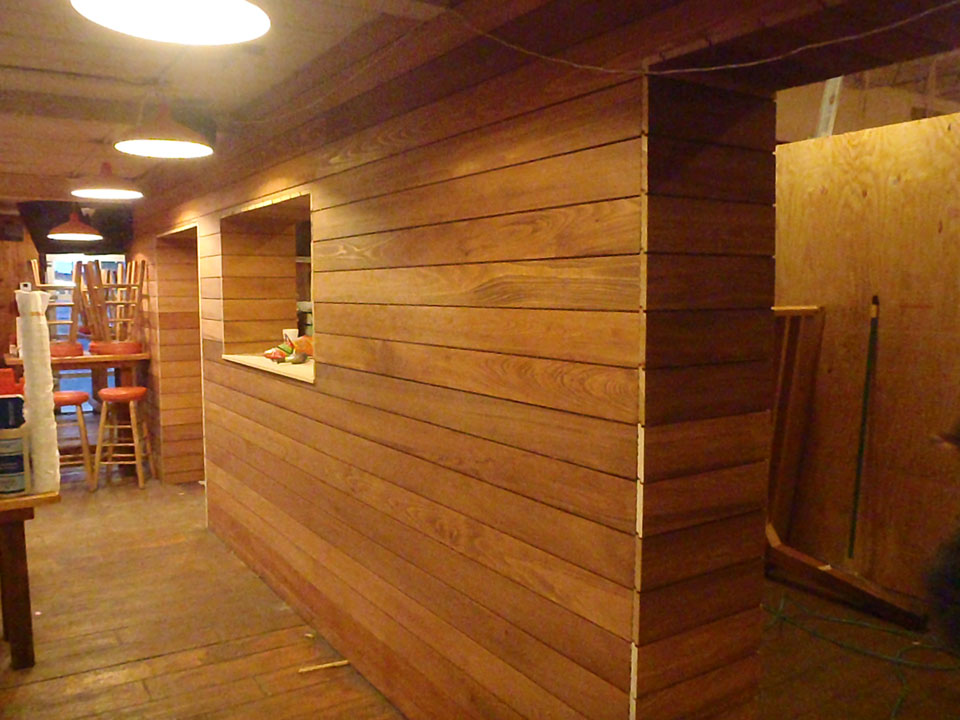 Cypress Wood Lumber Tongue Groove